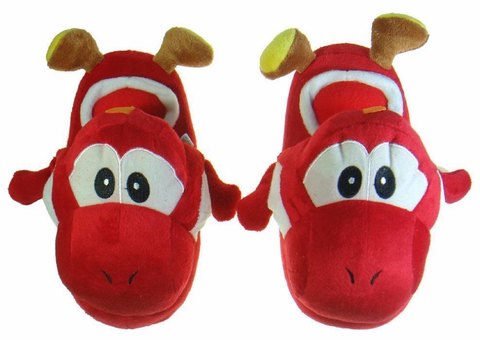 Chinelos criança Peluche Yoshi Nintendo Super Mario Brothers Braga - imagem 8
