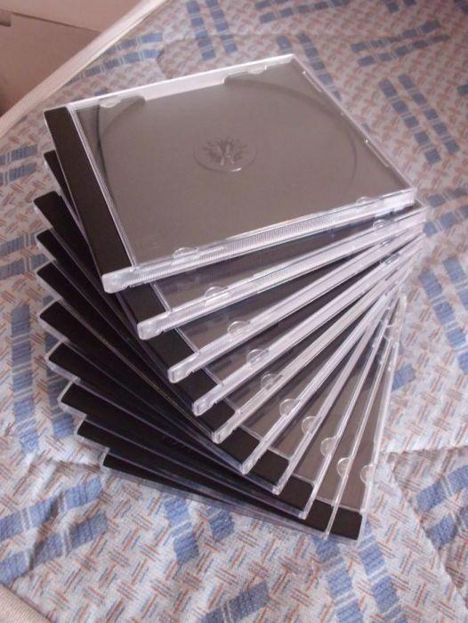 10 Caixas para CDs como Novas