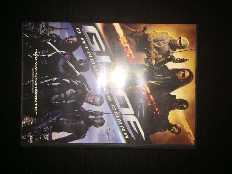 """DVD """"GI Joe - A retaliação dos cobra"""" (como novo)"""