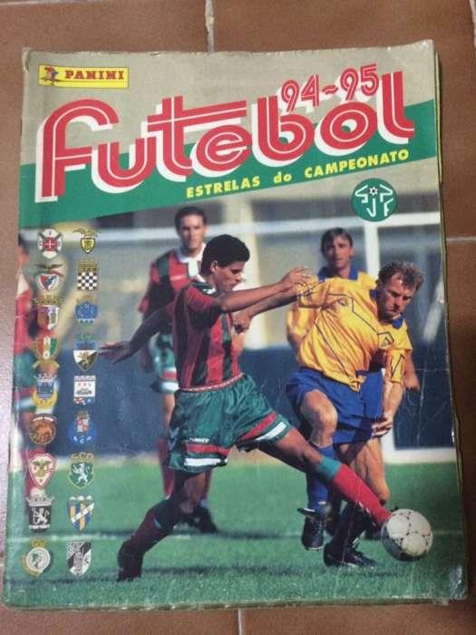 Caderneta de Cromos Panini Futebol 94-95 Estrelas do Campeonato 5b8a37b412518
