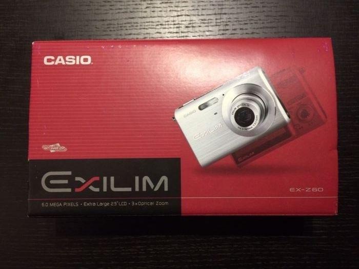 Casio Exilim, na caixa com bolsa Lumiar - imagem 4