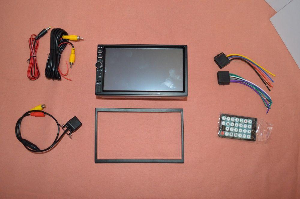 """Rádio 2DIN 7"""" Oferta Câmera + MOLDURA - Bluetooth USB Micro SD Paranhos - imagem 9"""