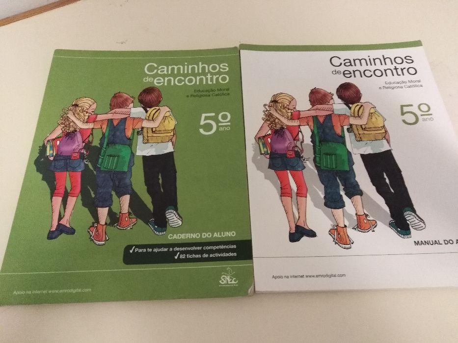 Livro: Caminhos de Encontro - 5º Ano - ISBN 9789728690267