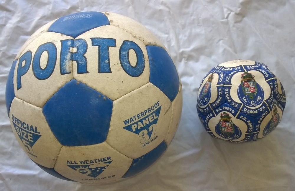 Bolas de Futebol Porto - FCP & Coca-Cola (Pague 2 Leve 3)