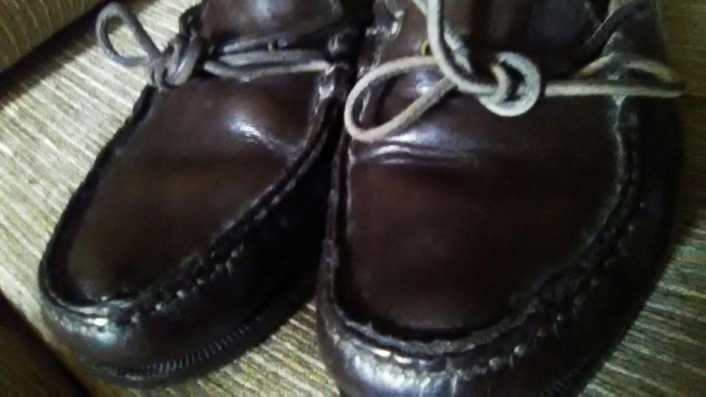 Sapatos vela pele genuina