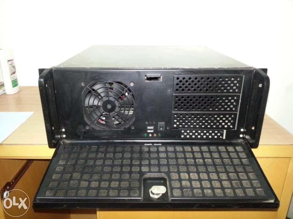 Computador Gravador Vigilância Suporte 4 câmaras .