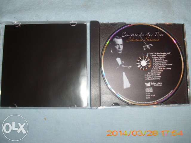 C D - Musica classica - Johann Strauss - concerto ano novo