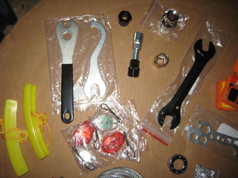 Actualizado - Utilidades e ferramentas para bicicletas NOVOS
