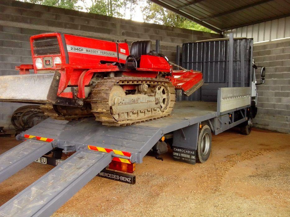 Transporte de tratores, alfaias agricolas e maquinas Coimbra - imagem 2