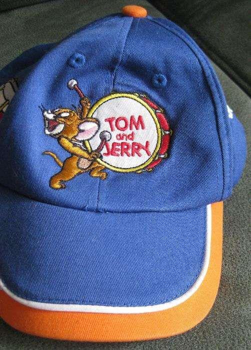 Boné Criança Novo Tom And Jerry com etiqueta em Algodão