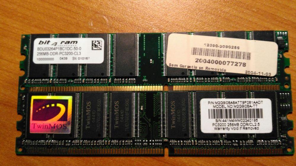 Vendo memórias RAM
