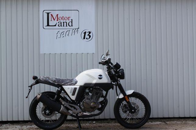 Motocykl Zipp Cafe Racer 125 ccm kat.B Ciechanów