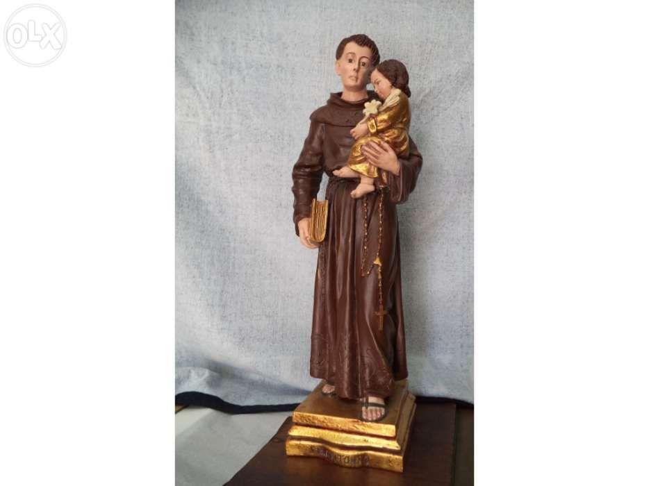 Santo António    ( pintado á mão )