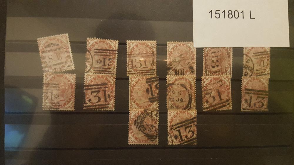 14 Selos de Coleção da Gran Bretaña