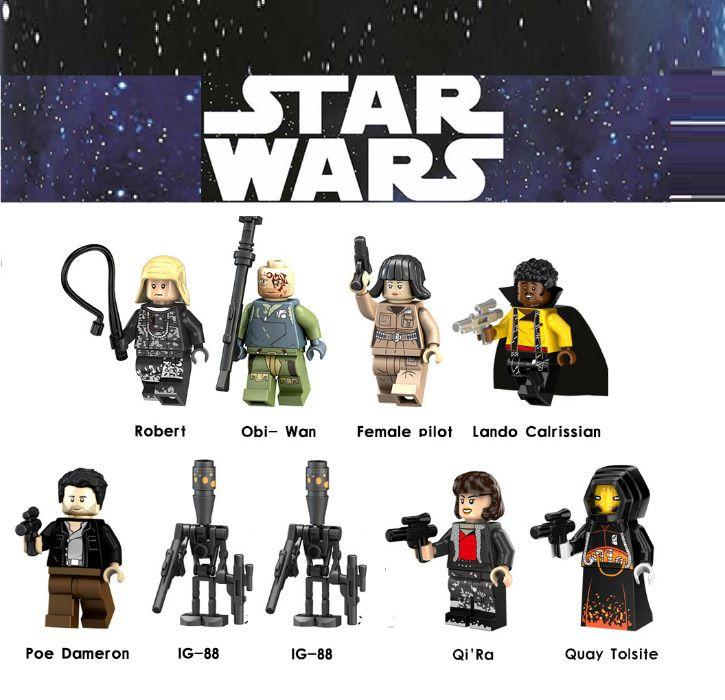 Bonecos minifiguras Star Wars nº47 (compativel com lego)