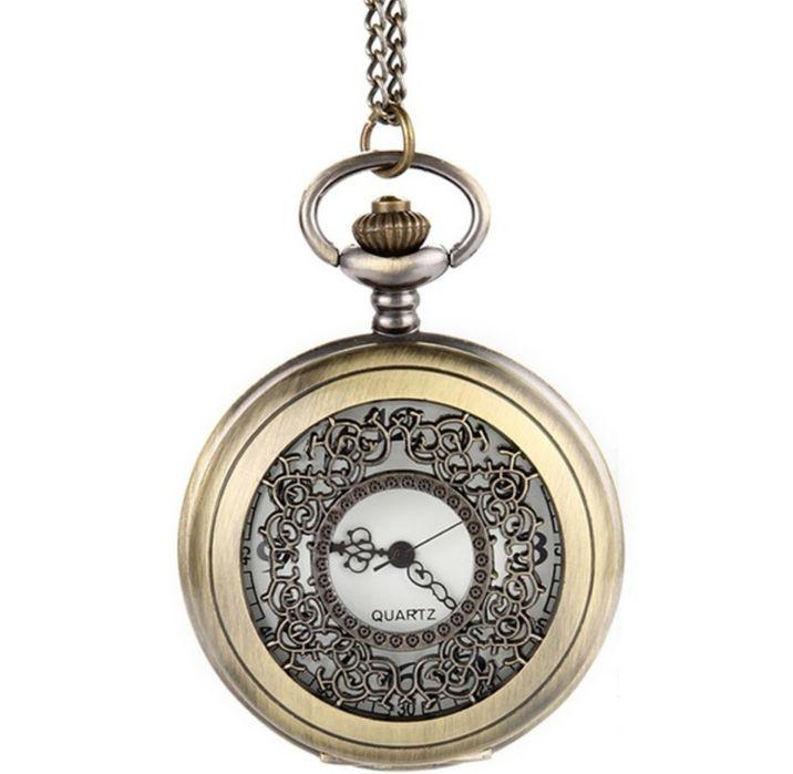 Relógio de Bolso da Quartz Vintage, Luxo Moderno/Antigo NOVO e Selado