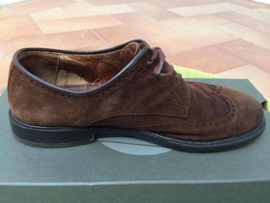 66648dd62 Sapatos em Camurça Homem Tamanho 40 Porto • OLX Portugal