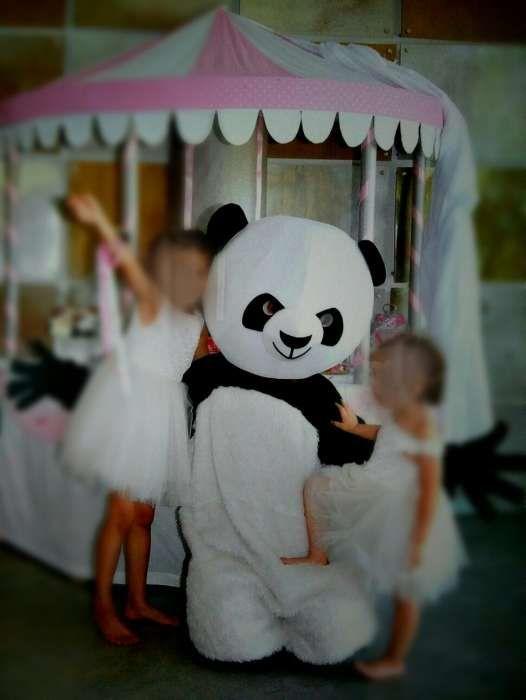 Mascote Panda Aluguer