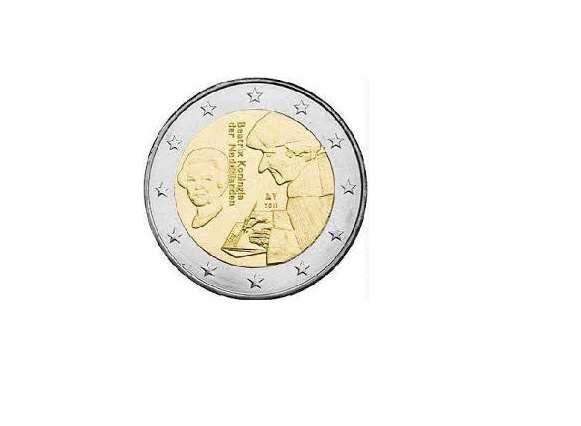 Holanda Moedas Comemorativas de 2 euros ou 2,00 UNC