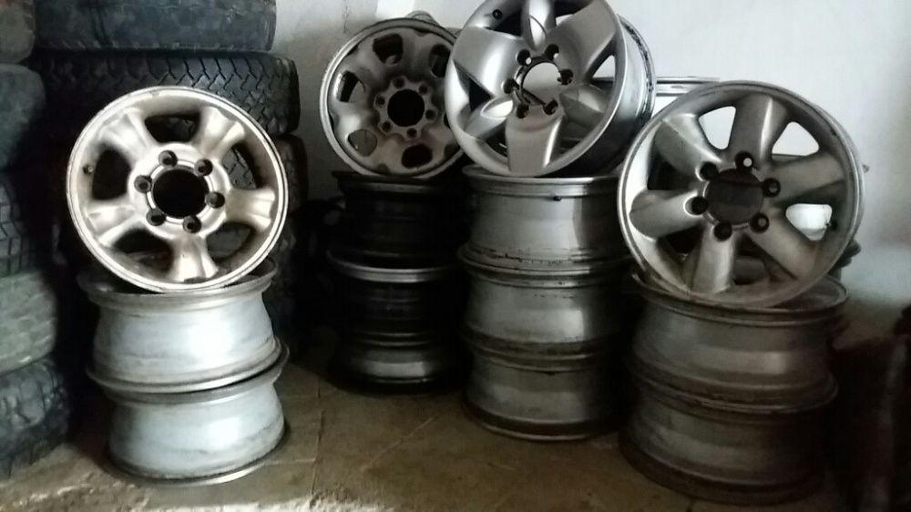 """Jantes 16"""" e 15"""" Nissan terrano e d22"""