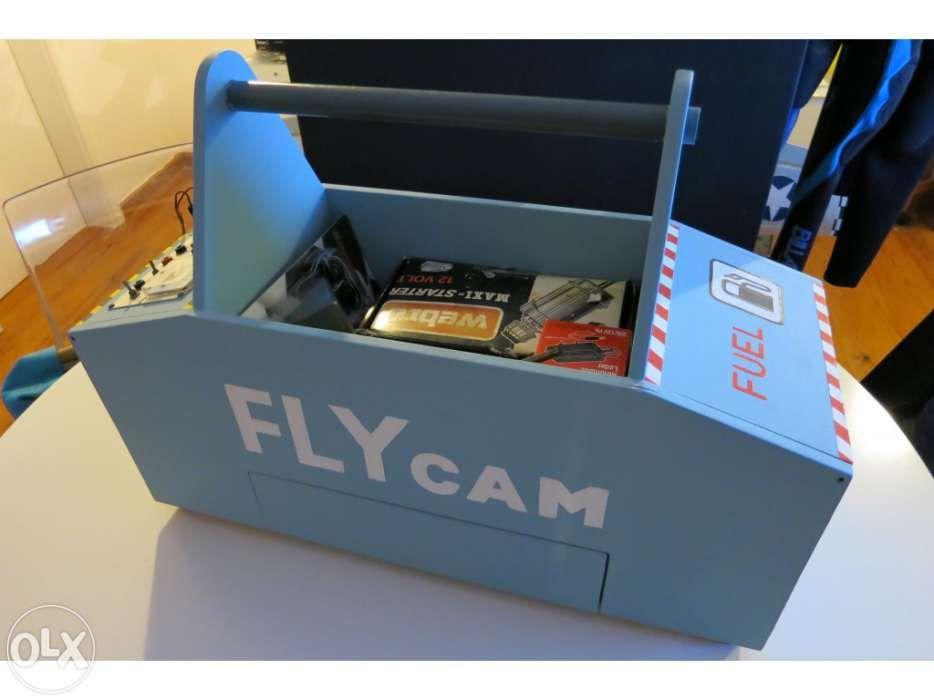Caixa de voo / caixa de campo COMPLETA avião/Heli RC Aeromodelismo