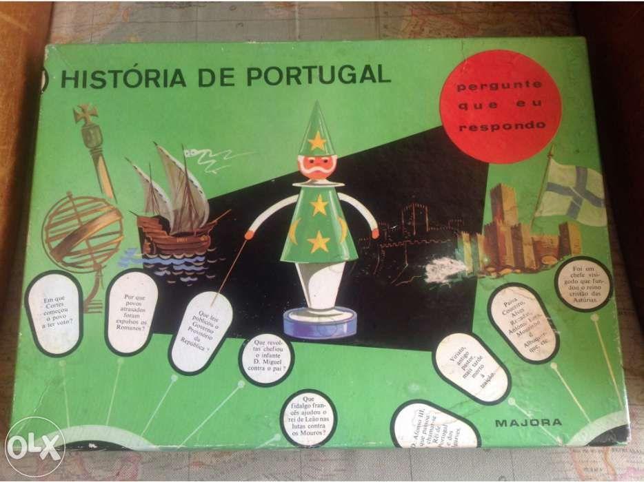 Antigo jogo Majora História de Portugal