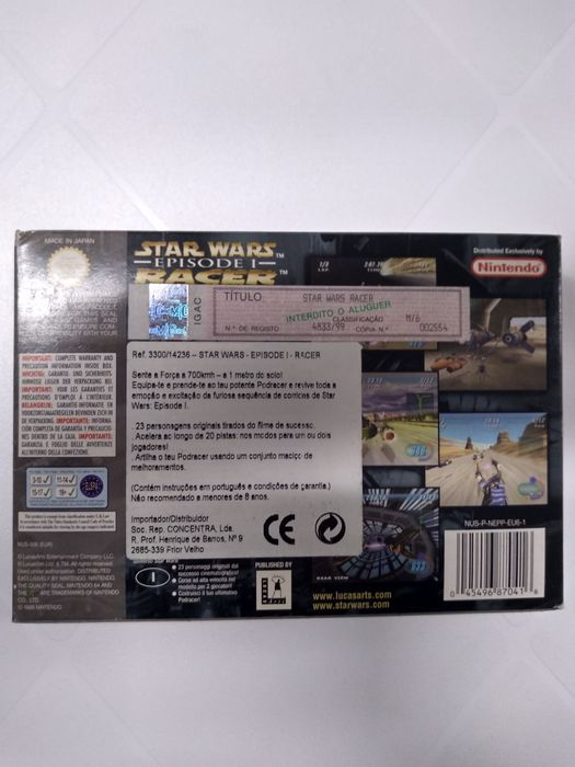 Nintendo jogo Star Wars NOVO Carnaxide E Queijas - imagem 2