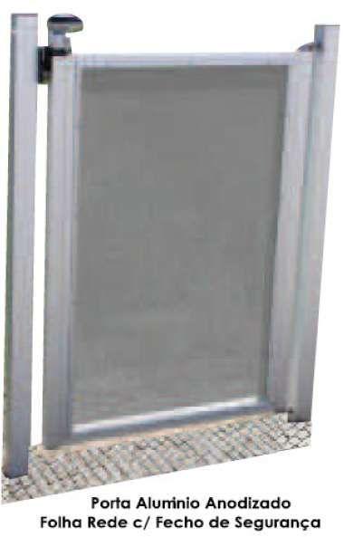 Proteção Segurança vedação exterior com porta cascais piscinas e spas Cascais E Estoril - imagem 3