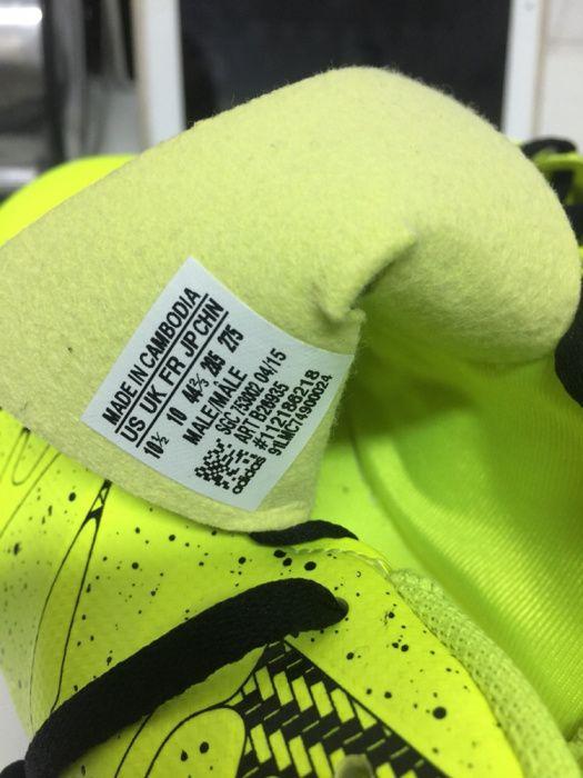 Adidas futsal x 15.4 in tamanho 44 2/3