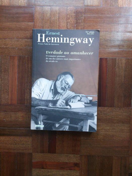 Livro Verdade ao Amanhecer Hemingway