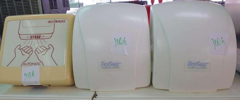 Secadores de mãos
