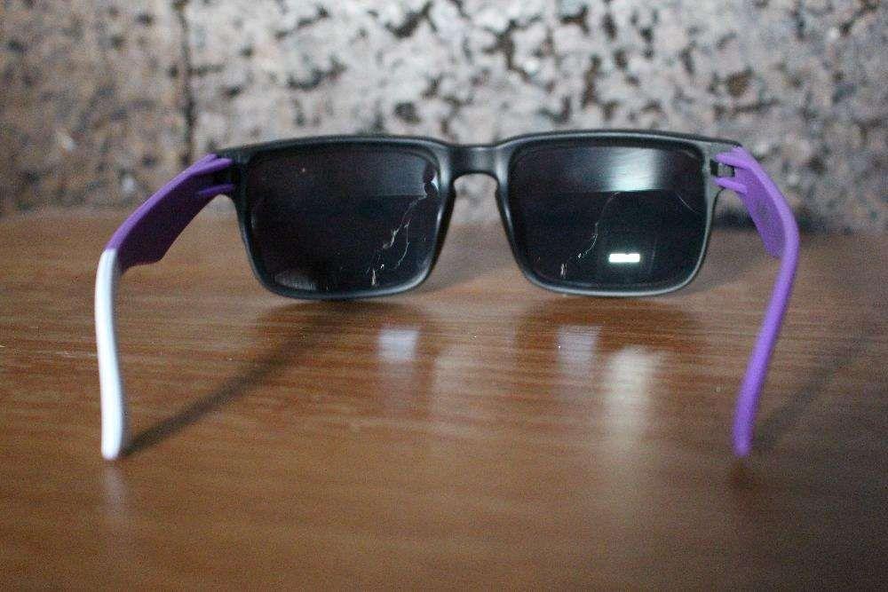 2a5e278b88ac7 Óculos de sol SPY Ken Block - Roxo Branco Preto (NOVO) Corroios ...