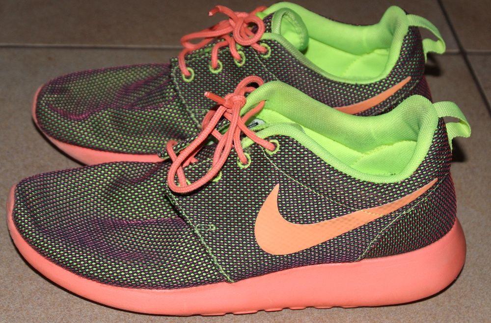Nike Roshe Run Laranja Santa Cruz • OLX Portugal
