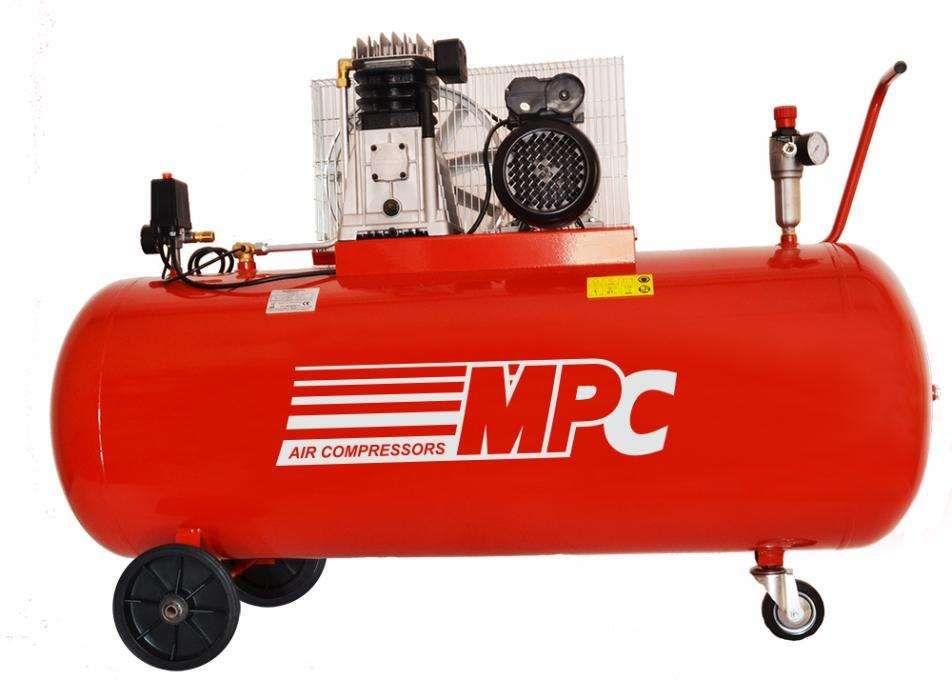 Compressor de ar de 200L - 3cv - 230V Monofásico