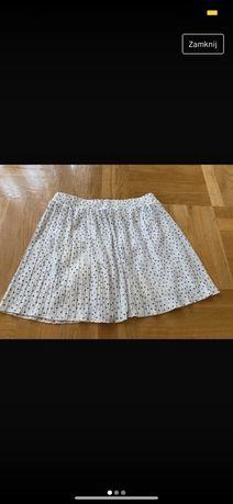 Spódniczka krótka Zara szara rozkloszowana 36 Majdan