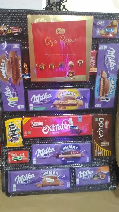 Cargas de Chocolates (para máquinas)