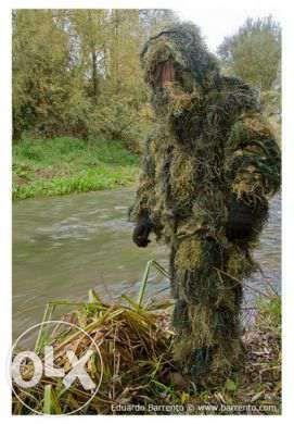 Fato Ghillie Sniper: Caça , pesca, fotografia de vida selvagem