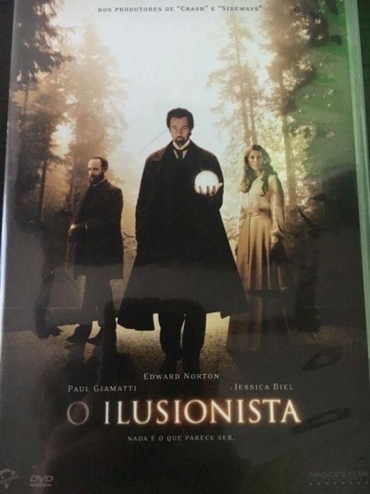 DVD Filme O Ilusionista