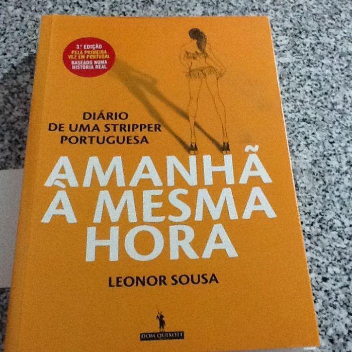 Livro diário de uma striper portuguesa