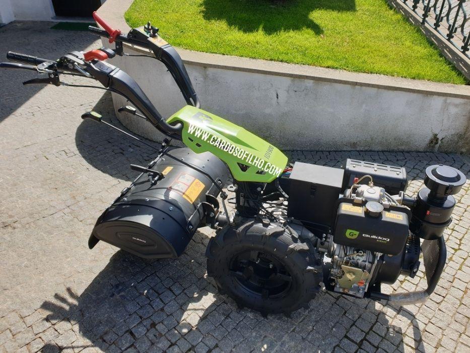 Motocultivador Gasoleo Com Arranque Electrico