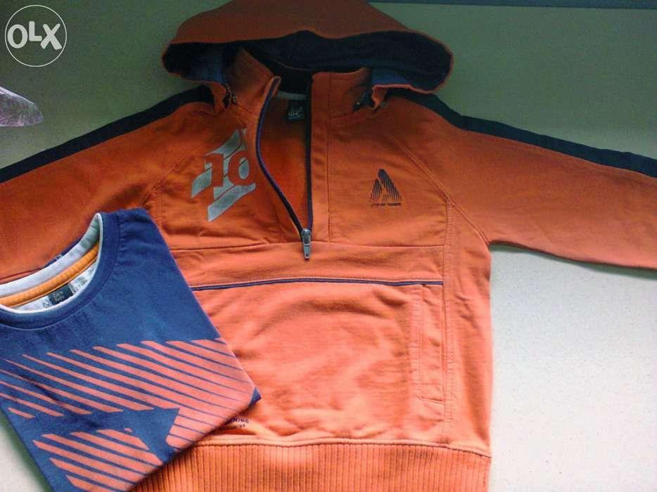 Camisola com capucho da zara e t-shirt como novas Tamanho  3-4 bd77e903fa866