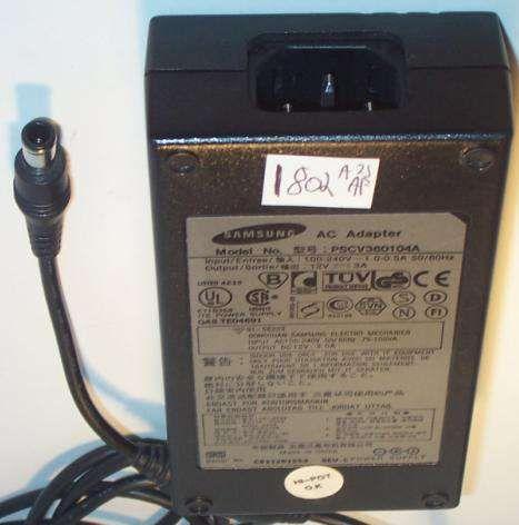 Alimentador original Samsung para Monitores TV LCD PSCV360104A