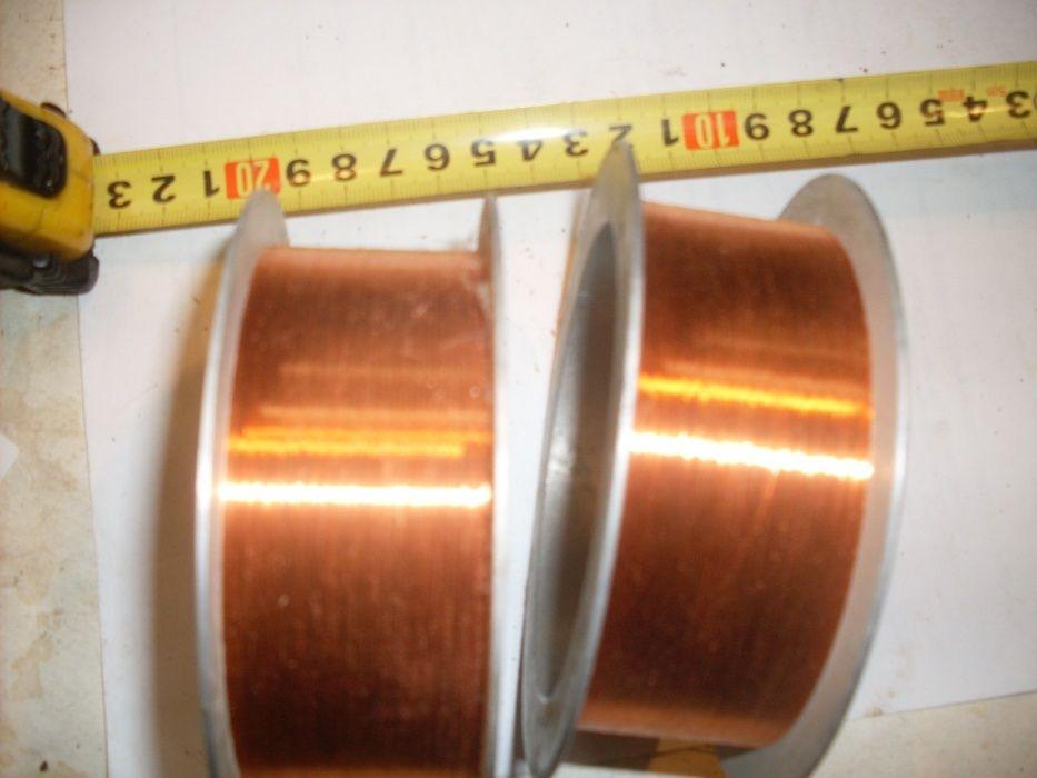 Медный провод диаметром 0,07 мм