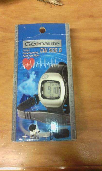 25dcda015e9 Cardio Frequencímetro Geonaute CW 500.0 Guarda • OLX Portugal