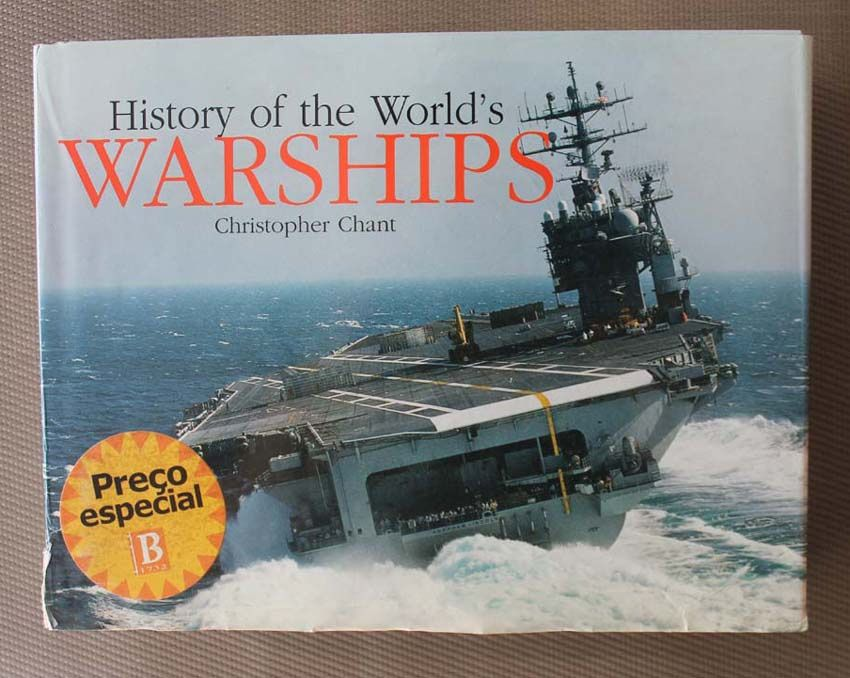 Livro History of the World's Warships