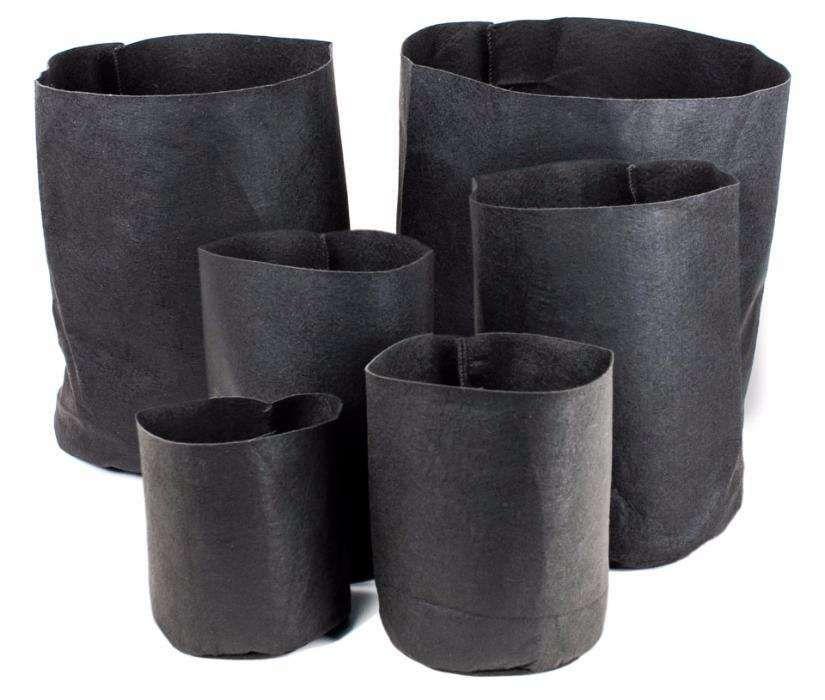 Vaso Root Tex Quadrado ou redondo / Vaso Biodegradável 11.35Lt