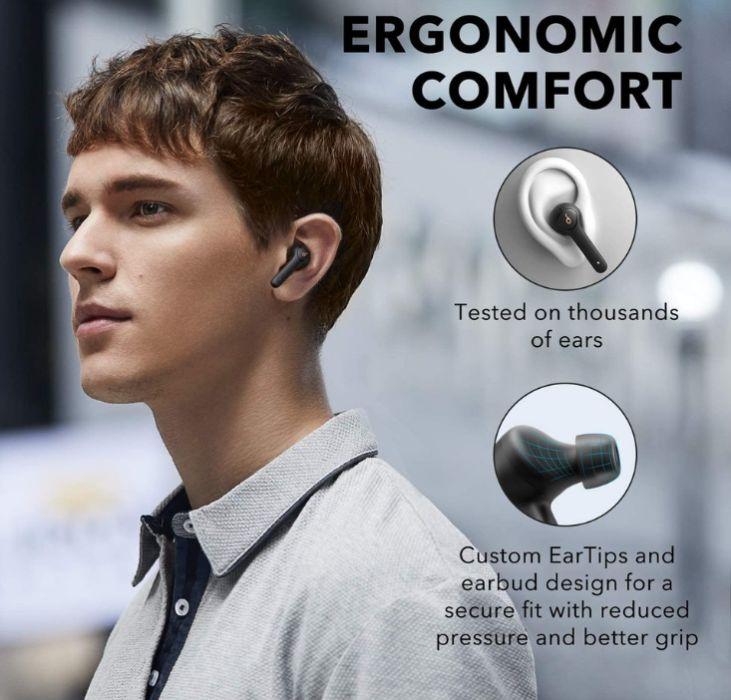 Наушники Bluetooth TWS Anker Soundcore Life P2 aptX: 1 395 грн. - Наушники Харьков на Olx