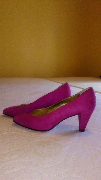 Sapatos mulheres rosa tamanho 38 usado