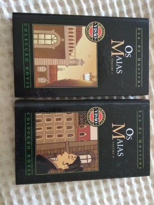 Os Maias (2 livros capa dura)