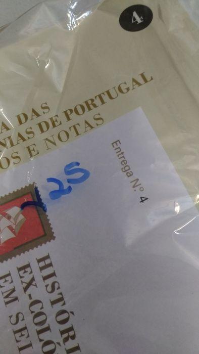 História das Ex-Colónias de Portugal - Em Selos e Notas - Fascículo 4